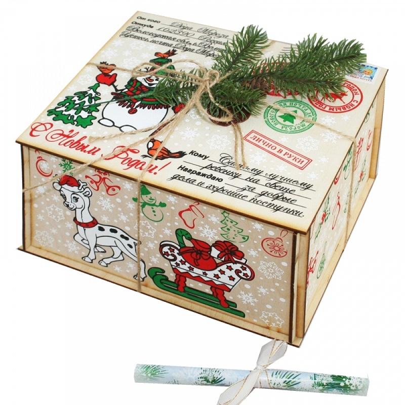 Посылка № 3 от Деда Мороза (с письмом)