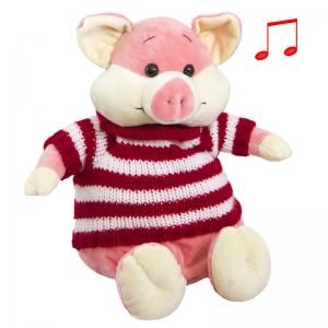 Свин Мартын (Музыкальная игрушка)