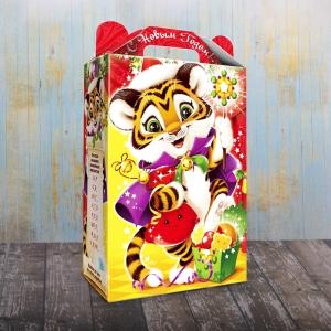 Праздничный тигрёнок