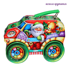 Джип Деда Мороза (зеленый)