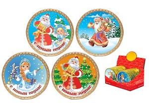Шоколадная медалька с символом года